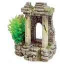 Wall with Plants Aquarium Ornament