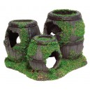 Sunken Barrels with Moss