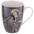 Bone China Wolf Song Design Mug