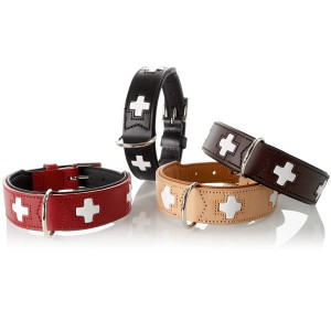 Hunter Swiss Dog Collar Leather- Jasminespetshop.co.uk