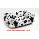 Jasmines Polyester Faux Fur Dog Bed