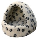 Fleece Lined Hooded Pet Beds